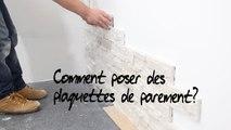 Castorama Poser Des Plaquettes De Parement Vidéo Dailymotion