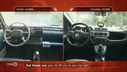 Essai : Fiat Panda 4x4 2016 vs. Fiat Panda 4x4 1983 (Emission Turbo du 07/02/2016)