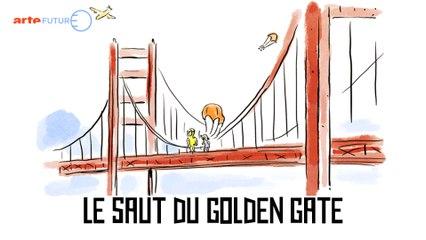 Le saut du Golden Gate - Tu mourras moins bête - ARTE