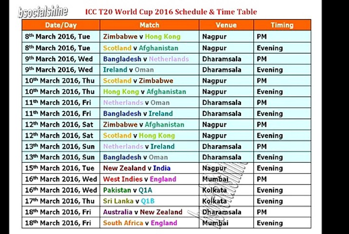 2020 World Cup Schedule.World Cup 2020 Schedule Colombia
