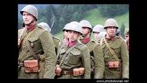 Boje o Strecno 1944 WW2 Re-enactment Tiesnava 2012 . Slovak national uprising SNP .