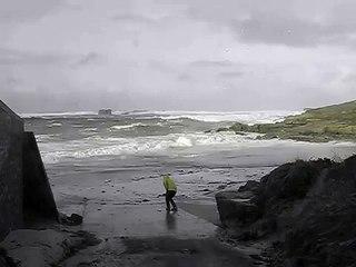 BRETAGNE - Pendant la tempête, ils sont emportés par une vague.