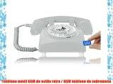 OPIS 60s MOBILE: móvil de sobremesa / teléfono GSM / teléfono de escritorio GSM / telefono