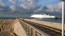DFDS Côte des Dunes, première traversée Calais-Douvres