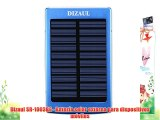 Dizaul SR-1003BE - Batería solar externa para dispositivos móviles