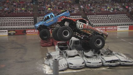 Monster Truck Nationals - Columbus Highlights - 2015