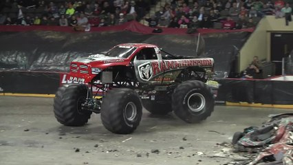 Monster Truck Nationals- Sioux City Highlights -2015