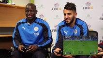 """""""FIFA 16, interview Riyad Mahrez/ Ngolo Kante en toute décontraction"""""""