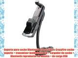 Soporte para coche Bluetooth manos libres CrazyFire coche soporte   transmisor inalámbrico