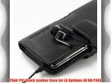 PDair P01 Black Leather Case for LG Optimus 4X HD P880
