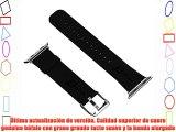 Apple Watch Banda JETech® 42mm Cuero de Búfalo Correa Muñeca Banda Reemplazo con Broche de