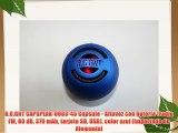 R.O.GNT CAPSPEAK-0003-45 Capsule - Altavoz con batería (radio FM 80dB 370mAh tarjeta SD USB)