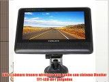 BW ® cámara trasera wireless para coche con sistema Monitor TFT-LCD de 7 pulgadas