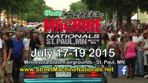 The Street Machine Nationals is coming to St. Paul, MN July 17-19, 2015