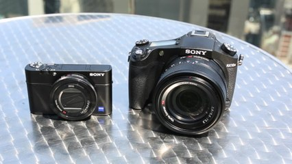 Hands On: Sony's RX100 IV and RX10 II
