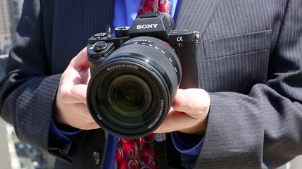 Hands On: Sony a7R II