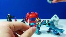 9 Big Hero 6 Deluxe Chiffres Station De Jeux Vidéo Pour La Revue De Hiro Wasabi Baymax Yokai Fred
