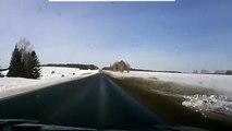 Car Crash ice skating!!! CAR CRASH VIDEOS