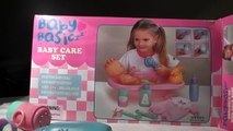BABY doll for girl baby care set doll play bathing and taking a shower toy poupée pour fille douche