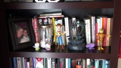 Alastair's Bookshelf of Geekdom and Spooky Happenings  - Super Amazing Project