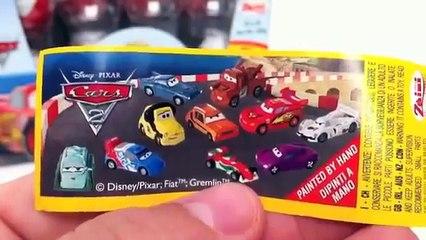 Cars 2 Chocolate Surprise Egg Unboxing Disney Pixar - Cars 2 Kinder Sorpresa