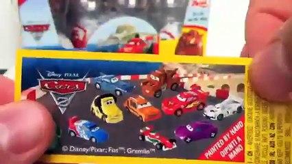 Cars 2 Surprise Eggs Unboxing Disney Pixar toy gift - Kinder sorpresa huevo juguete regalo Cars-6