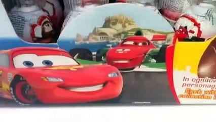 Cars 2 Surprise Eggs Unboxing Kinder Surprise Disney Pixar Pack of 24 Easter Eggs