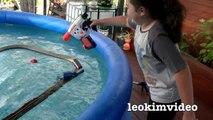 Thomas The Tank Trackmaster Pool Tracks Russian Navy Ship Attack Crash & Accidents Fun