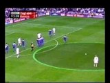 David Beckham - Freekick - England vs Greece