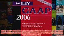 Download PDF  Wiley GAAP Interpretation and Application of Generally Accepted Accounting Principles 2006 FULL FREE