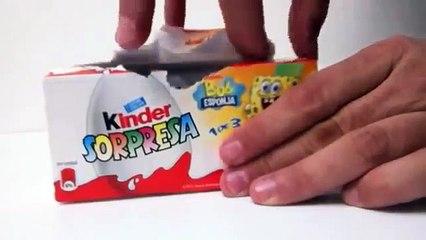 Kinder Surprise Egg Unboxing - Natoons Collection - kidstvsongs