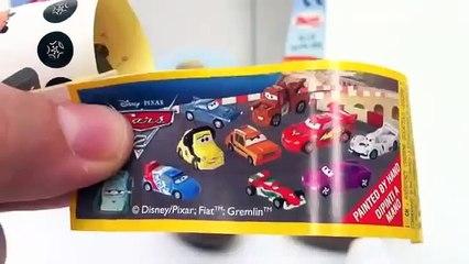 Cars 2 Surprise Eggs Unboxing Disney Pixar toy gift - Kinder sorpresa huevo juguete regalo Cars-9