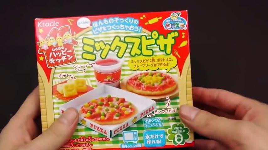 Trò chơi làm bánh Pizza bằng đồ chơi nấu ăn của Nhật Bản | Godialy.com