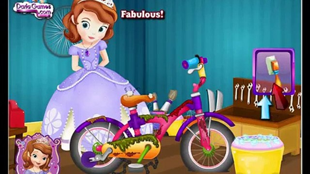 Disney Princess Games - Sofia the First Bicycle Repair – Best Disney Games For Kids Sofia