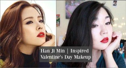 Han Ji Min Inspired Valentine's Day Makeup Tutorial | 한지민 발렌타인 데이 메이크업 튜토리얼