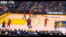 Stephen Curry Hits Three 3-Pointers in a Row | Rockets vs Warriors | February 9, 2016 | NBA
