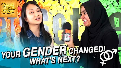 Your Gender Changed! What's Next? | Prank Asia