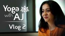 Perfect Time For Yoga – Yoga For Beginners | Vlog 1 | Yoga With AJ