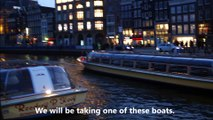 Amsterdam Canal Cruise Evening Snippets