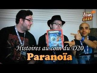 PARANOÏA - histoires au coin du D20