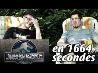 JURASSIC WORLD en 1664 secondes