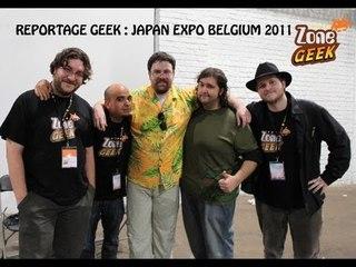 Japan Expo Belgium 2011 un reportage de la Zone Geek