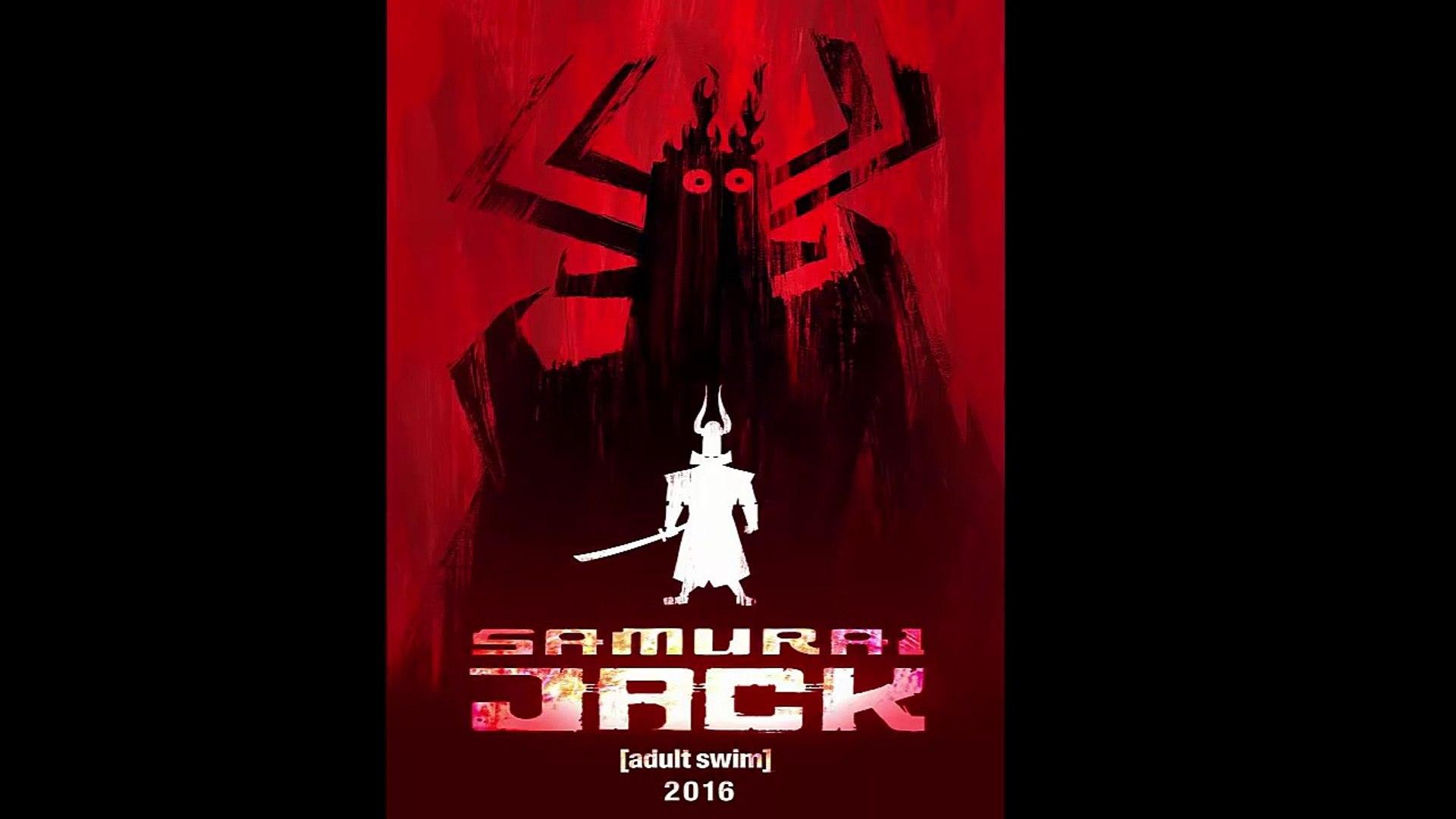Samurai Jack RETURNS 2016 - New Season 5 in Toonami Information!!