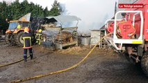 Saint-Agathon (22). Un incendie ravage un hangar agricole