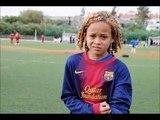 Xavi Quentin Simons, crack de la Masia, futur du Barça