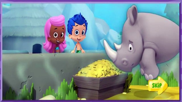 Bubble Guppies - Lonely Rhino Friend Finders - Bubble Guppies Games
