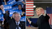 Sanders, Clinton thank New Hampshire voters