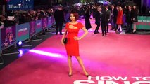 Amy Childs is racy in red at How To Be Single premiere in London _ Daily Mail Online