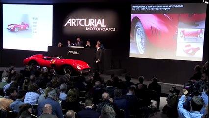 Vidéo : la vente record de la Ferrari 335S Scaglietti par Artcurial