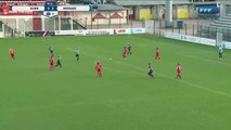 French women's second division match featured a proper punch-up